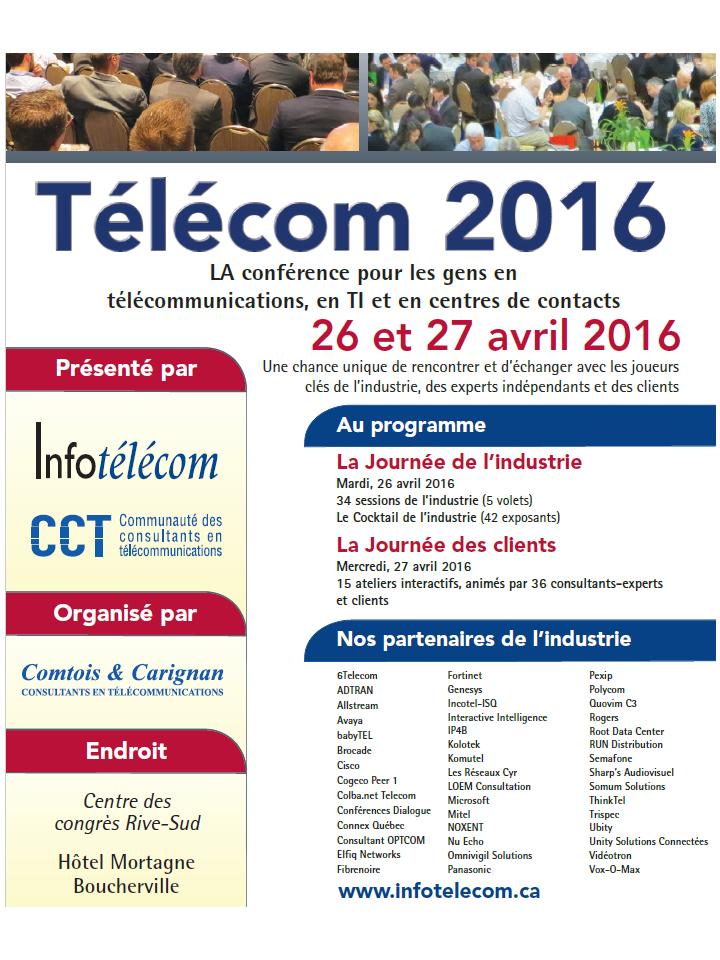 Télécom 2016